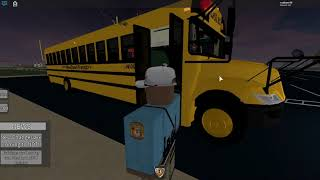 Roblox | Lets Be a School bus driver [EP.1]