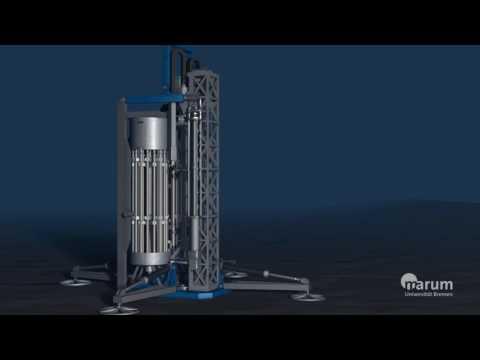 Sea-floor drill rig MARUM-MeBo70