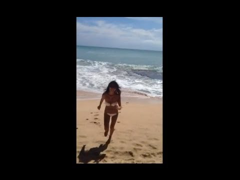 Ami's private video in Bali