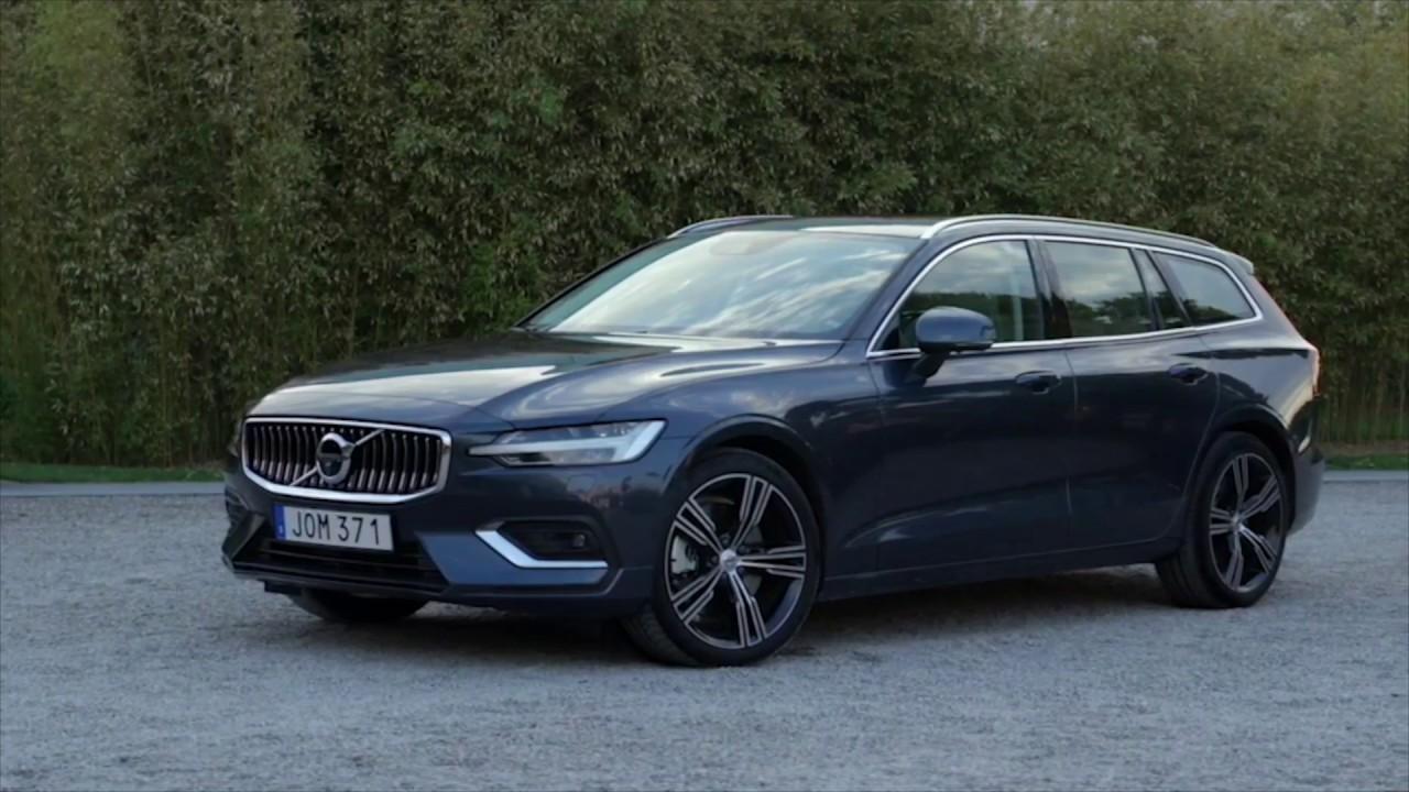 New Volvo V60 D4 Inscription Denim Blue Design