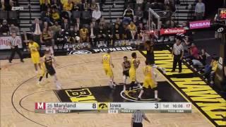 Damonte Dodd Throws Down the Alley Oop vs. Iowa