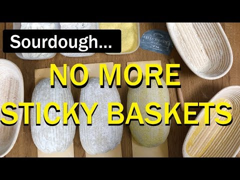 Sourdough: STOP your Dough STICKING TO THE BASKET! - Bread Tip 97