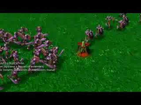 Warcraft 3 - Custom Spells