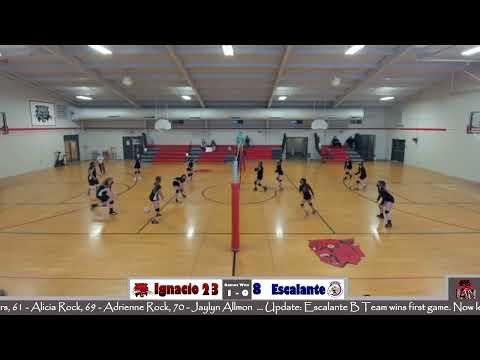 Ignacio Middle School Lady Cats C Team Volleyball Vs. Escalante MS Eagles C Team VB