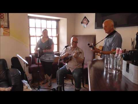 'Rock Island Line' - Skiffle Ukulele - live at The Yard, Ilkley