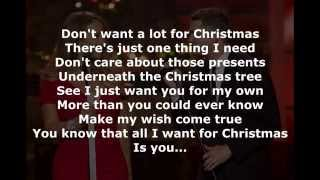 Michael Buble ft. Mariah Carey - All I Want For Christmas Is You (Karaoke Medley)