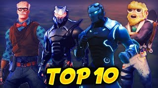 TOP 10 OF THE BEST FORTNITE SKINS - COMPLET CLASSEMENT OF 126 SKINS