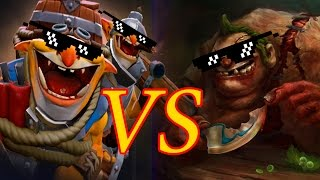 Pudge vs Techies on The International 2015
