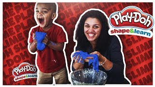 DIY PLAY-DOH SLIME | THE PRINCE FAMILY