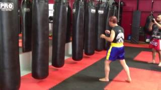 Ajarn Nelson Muay Thai Push Kick Manhattan Beach California
