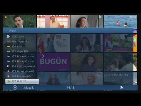Çanaksız TV küçük kanal listesi