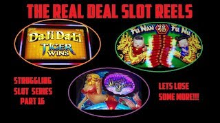 STRUGGLING SLOT SERIES - PART 16 TRYING 3 NEW SLOTS - STILL LOSING