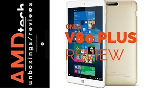 Onda V80 Plus Review:  $79 Dual OS Full HD Tablet:  Is it Any Good?