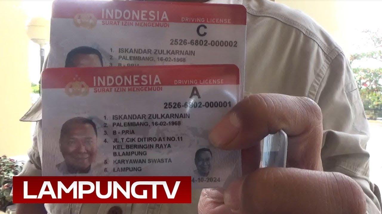 Polda Lampung Luncurkan Sim Baru Bisa Untuk Bayar Tol Youtube