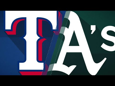 Hamels leads Rangers to 4-1 win over Athletic: 4/3/18