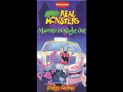 Opening To Aaahh!!! Real Monsters:Monsters Night Out 1997 VHS