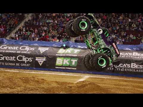 Monster Jam Little Rock 2018 Highlights