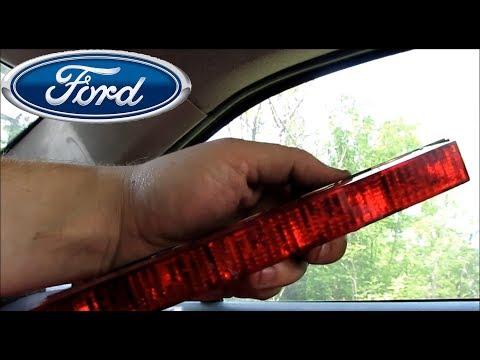 Замена лампочек стоп сигнала Ford Mondeo 3