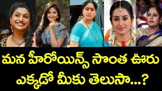 Do you know telugu heroines own place | tollywood telugu heroines details | toptelugumedia