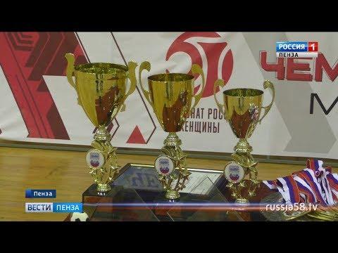 Пензенская «Лагуна-УОР» взяла «золото» первенства России по мини-футболу