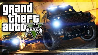 GTA 5 Online - INSURGENT TUNNEL OF DEATH. (GTA 5 Funny Moments)