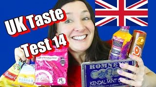 British Sweets Taste Test | Rolo | Bonds | Werthers | Kendal mint cake and more.
