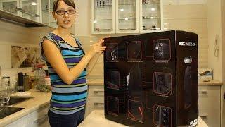 NZXT Noctis 450 black + red