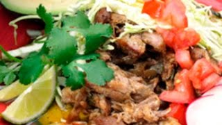 How To Make Carnitas - Carnitas Recipe -- The Frugal Chef