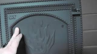 Банная печь с прямым нагревом камней