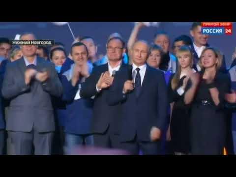 Russia's Vladimir Putin says will seek new presidential term in 2018