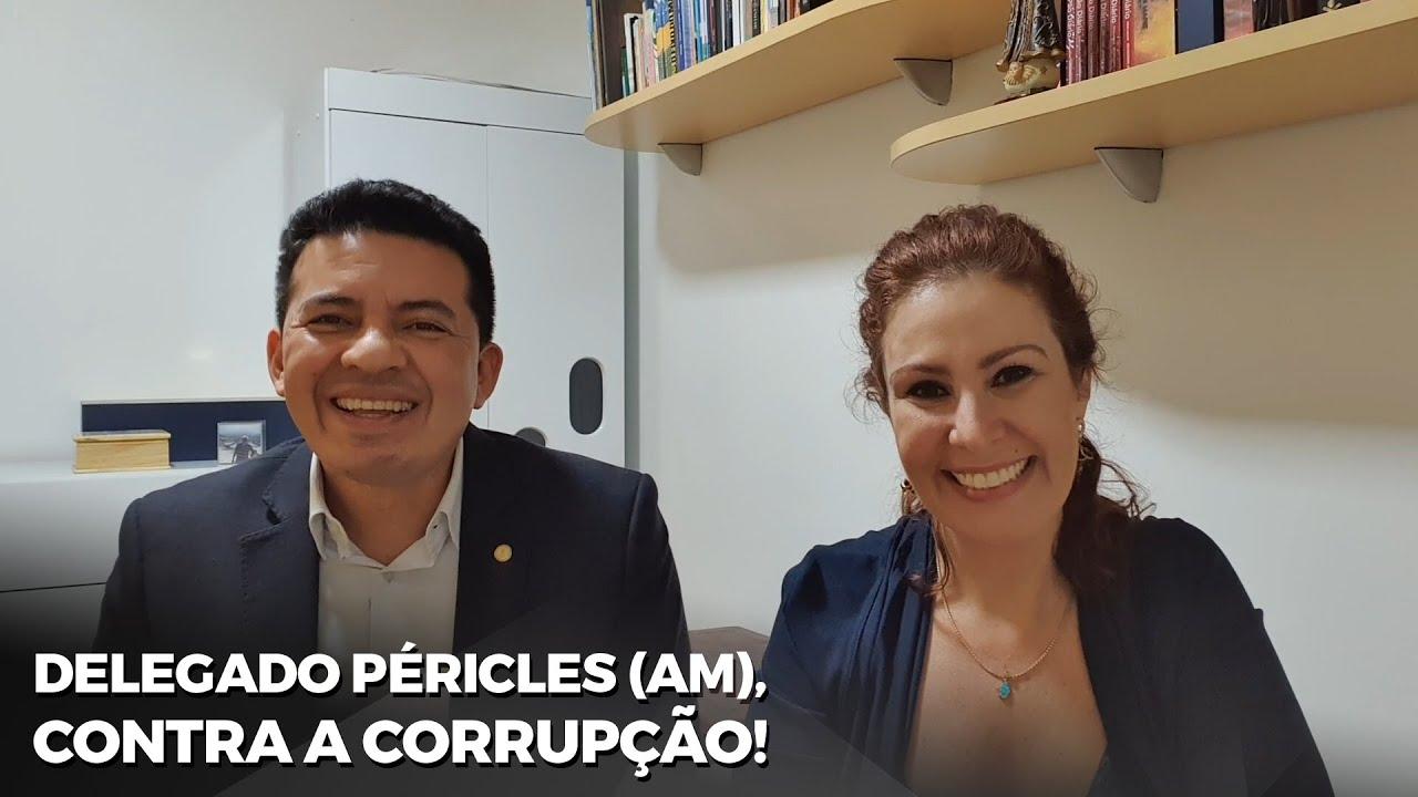 Delegado Péricles fala do COVIDÃO no Amazonas!