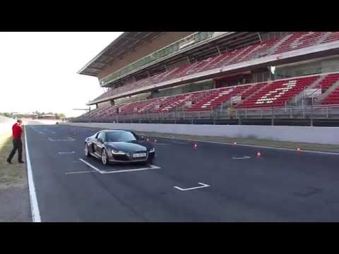 My Audi Driving Experience - Audi R8 V10, Catalunya F1 race track