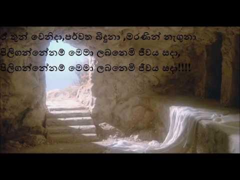 එ ලේ ගැලුවේ මා නිසයි (Ea Le Galuwe) - Sinhala Hymn