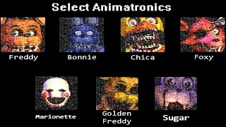 - The Return To Freddy s Simulator All Animatronics