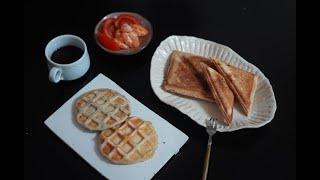 샌드위치메이커, 와플메이커 뽕뽑기!! 아이간식, 아침식…