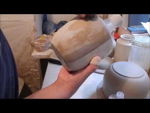 LB Ceramics Pottery Throwing Burnishing