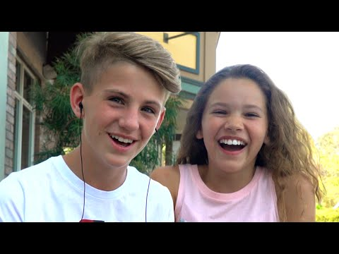 Thumbnail: The whisper challenge! (MattyBRaps vs Sierra Haschak)