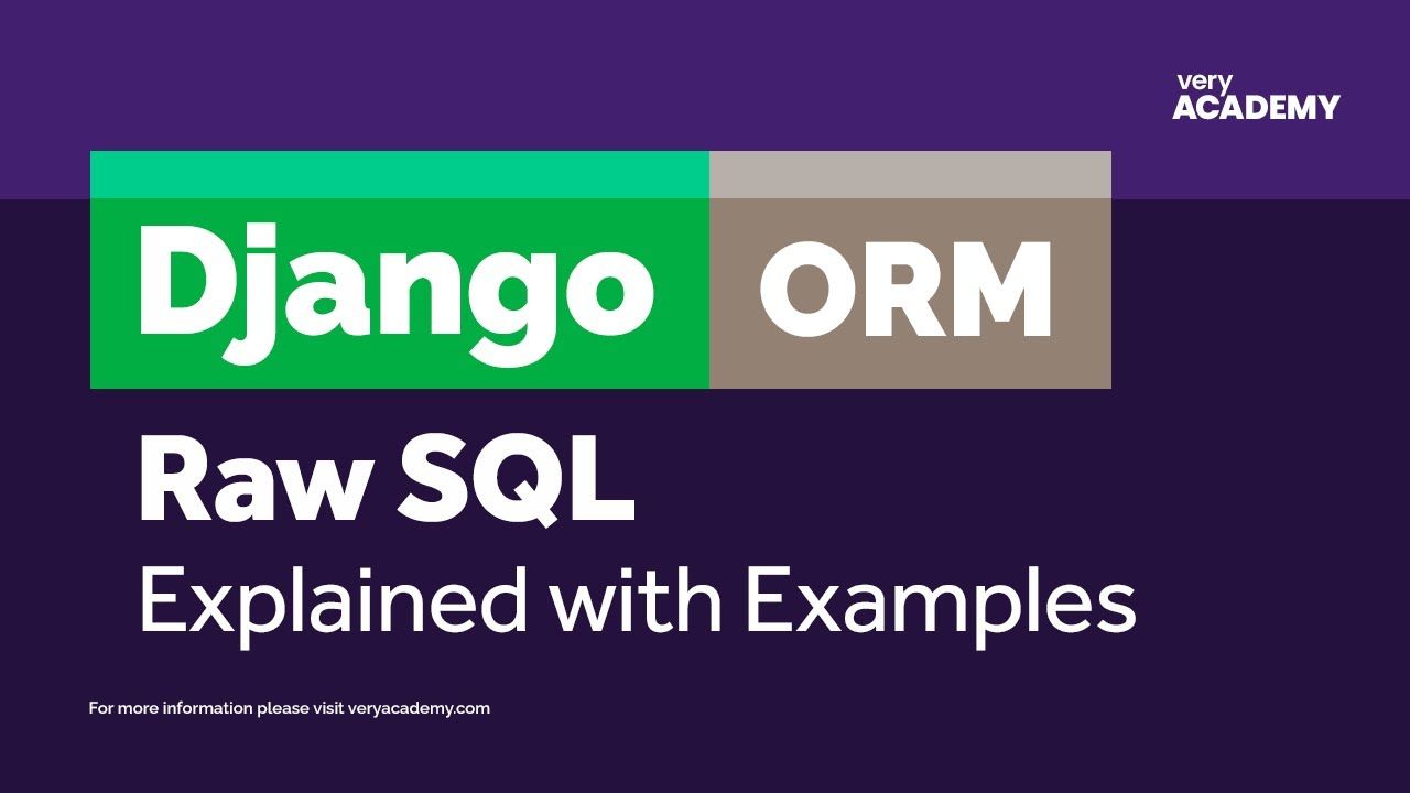 Django ORM - Performing raw SQL queries