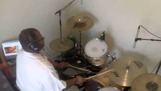 Jeff Bradshaw - Lay Your Head On My Pillow (Drum Cover) Tony! Toni! Toné!