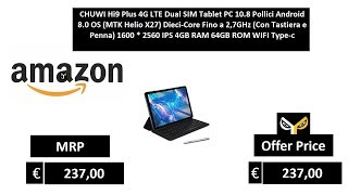 CHUWI Hi9 Plus 4G LTE Dual SIM Tablet PC 10.8 Pollici Android 8.0