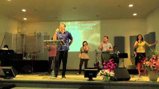 ICCC PW Kerahkanlah kekuatanMu + May our homes (Halleluyah) 08-21-2011