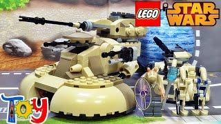 레고 스타워즈 AAT 75080 탱크 조립 리뷰 LEGO Star Wars Armored Assault Tank