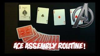 """""""Aces ASSEMBLE!"""" Advanced Card Trick Tutorial"""