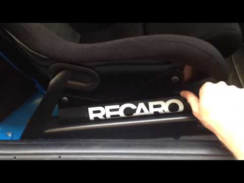 E92 M3 recaro SPG with electric sliders