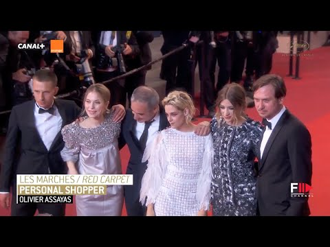 PERSONAL SHOPPER Full Red Carpet | Festival de Cannes 2016 by Fashion Channel