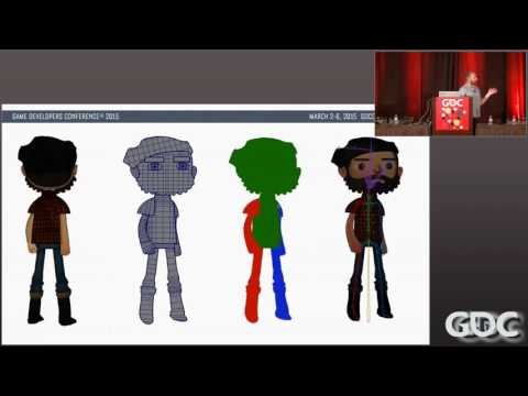 Animation Style and Process for Broken Age