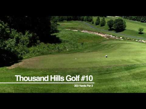 Thousand Hills Golf Course Overview Tour - All 18 holes!