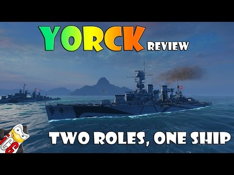 World of Warships - Yorck Review - Two Roles, One Ship