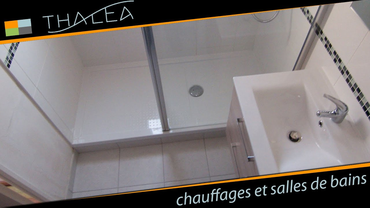 Thalea salle de bain remplacement baignoire par douche for Pare vapeur cloison salle de bain