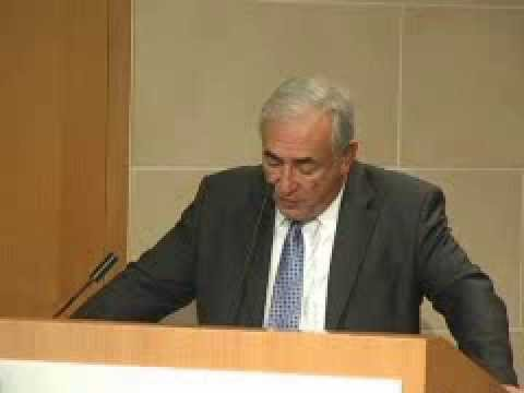 Dominique Strauss-Kahn: Euro at 10 Conference